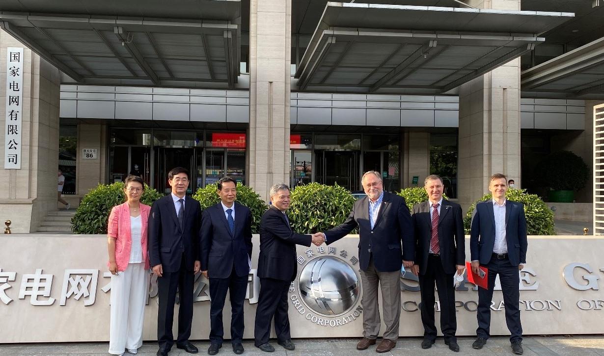 китай - посол сергій камишев відвідав штаб-квартиру state grid corporation of china