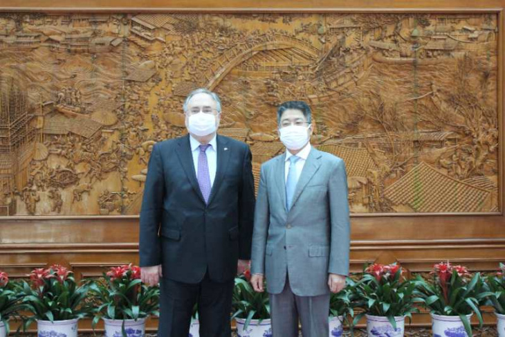 китай - посол україни зустрівся із заступником міністра закордонних справ кнр
